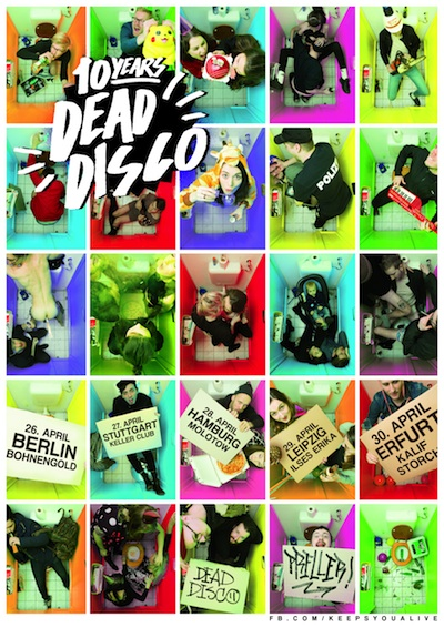 10-Years-Dead-Disco Plakat-Tour www